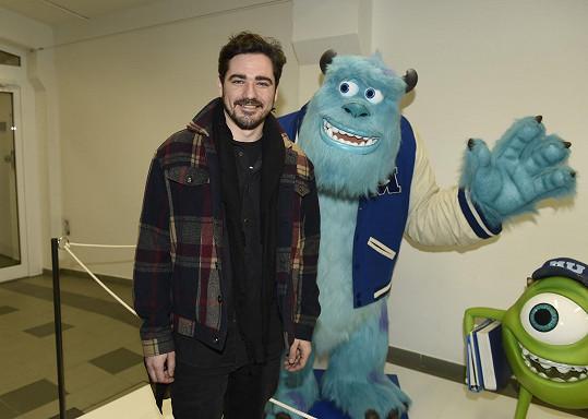 Vojta na vernisáži výstavy Pixar