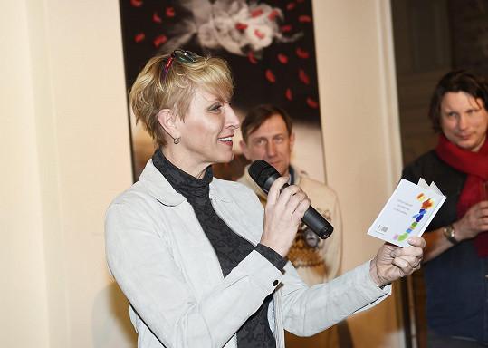 Další z kmoter byla zpěvačka Renata Drössler.