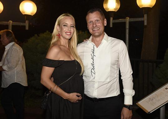Kate Matl s přítelem Michalem.
