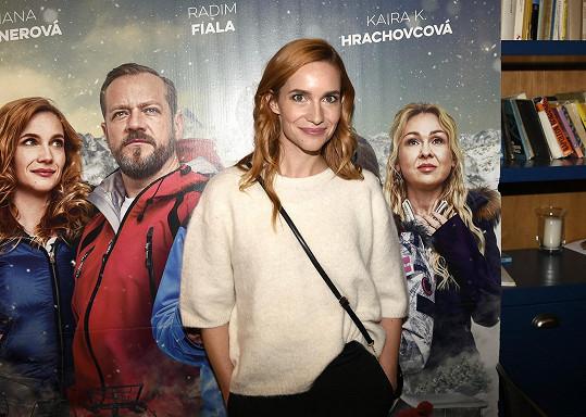 Hana Vagnerová ztvárňuje jednu z hlavních hrdinek v zimní komedii Špindl 2.