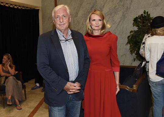 S manželem Karlem Heřmánkem