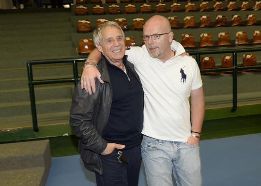 Hráli i šéf Kalichu Michal Kocourek a Josef Laufer.
