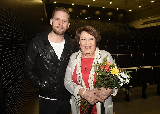 Jiřina Bohdalová se v nové show objeví mimo jiné s Jakubem Prachařem.
