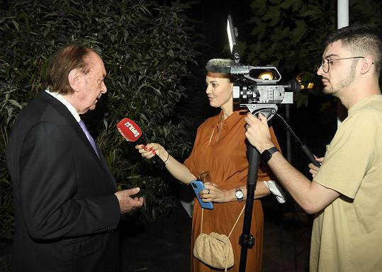 Janeček během rozhovoru pro Super.cz