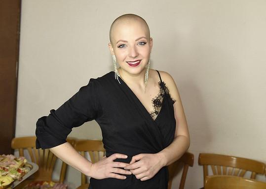 Před měsícem podstoupila poslední chemoterapii.