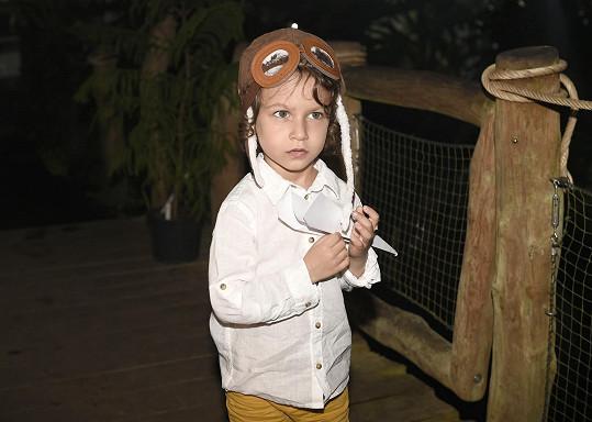 Nathánek ztvárňoval malého prince.