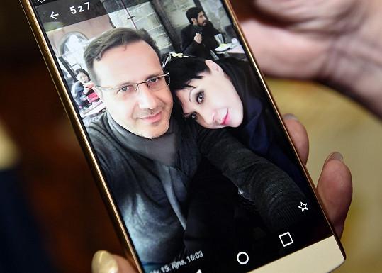 Pochlubila se aktuální společnou fotkou s italským přítelem.