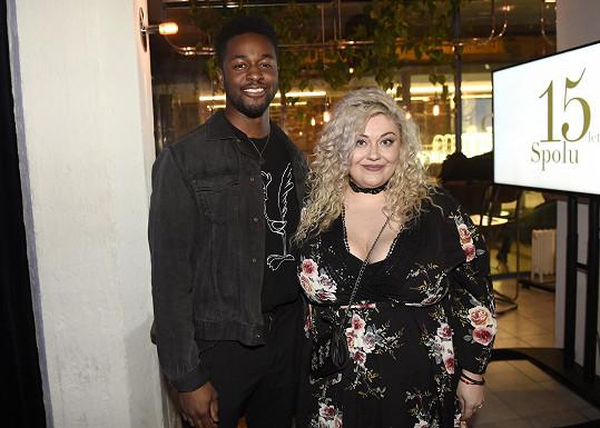 Dannie se svým exotickým manželem Albertem