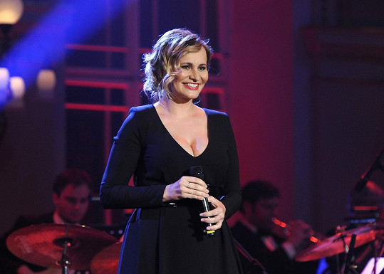 Monika Absolonová na koncertě