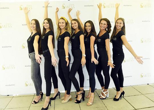 Tyto krásky na pražském castingu postoupily do semifinále.