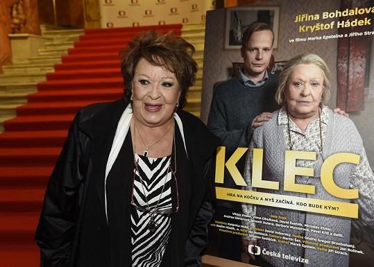 Jiřina Bohdalová natočila ke svým 88. narozeninám nový film.