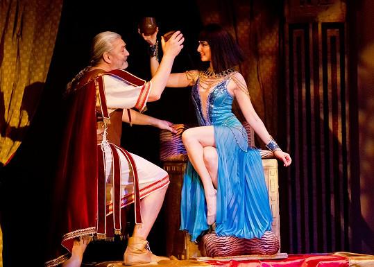 S písněmi z muzikálu Kleopatra bude příští rok na koncertě vystupovat.