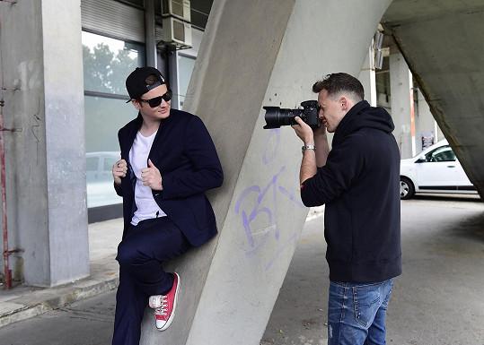 Za objektivem fotoaparátu stál Benedikt Renč.