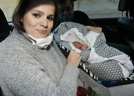 Štastná maminka s malým Svenem