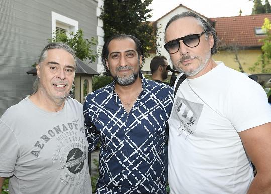 Slavil i s producentem Oldřichem Lichtenbergem nebo s Alim Amirim.