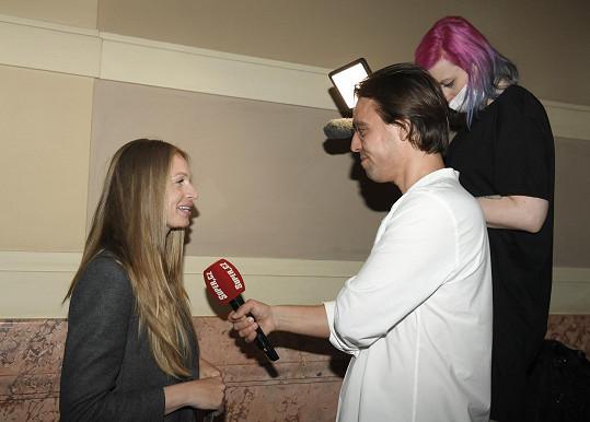 Veronika během rozhovoru pro Super.cz neskrývala emoce.