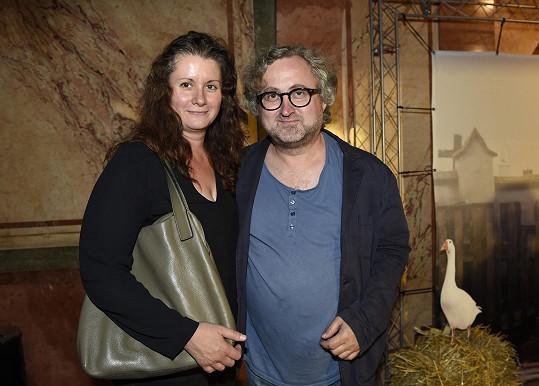 Dorazil také Jan Hřebejk s manželkou