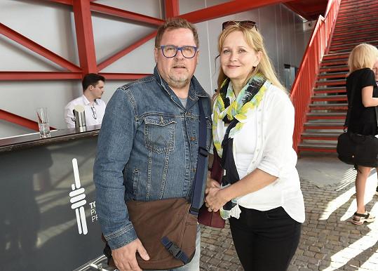 Rodiče Václav Kopta a maminka Simona Vrbická.
