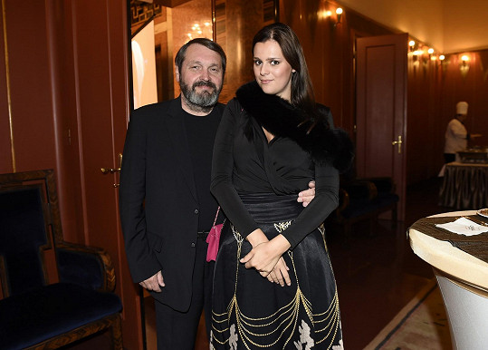 Ornella s manželem Pepou Koktou
