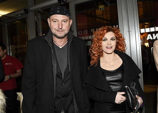 Marešová s Ludvíkem na premiéře Sibyly