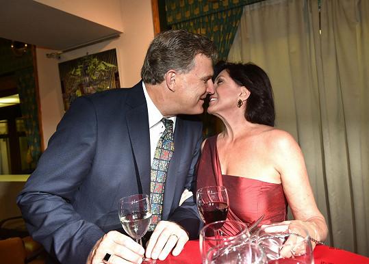Marie Rottrová řekla v létě ANO svému dlouholetému partnerovi Milanu Říhovi.