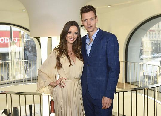 Tomáš a Ester jsou krásný harmonický pár.