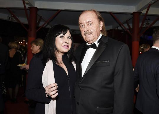 Patrasová s producentem Františkem Janečkem