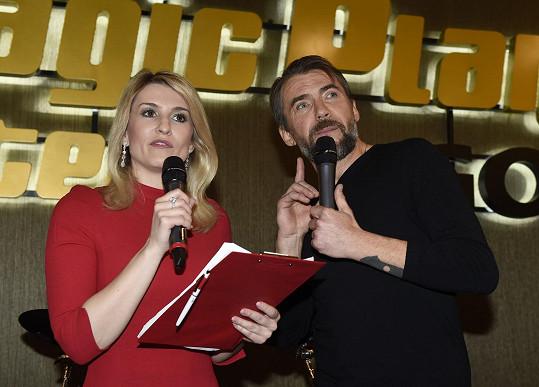 Akci moderovali Bořek Slezáček s Lenkou Špillarovou.