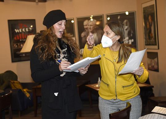 Při korepetici muzikálu Kabaret s Janou Balašovou