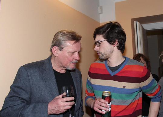Svatopluk Skopal se svým synem Frantou