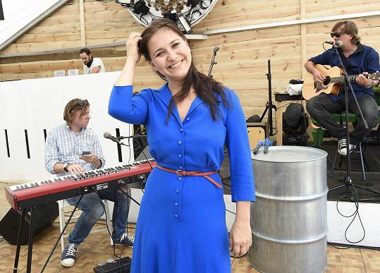 Vendula po vystoupení ve Finlandia Kokos Baru