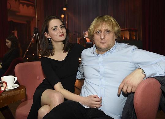 Lukáš Pavlásek s přítelkyní Denisou