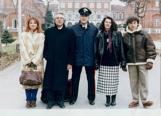 Andrea Andrei v roce 1994 jako policista.