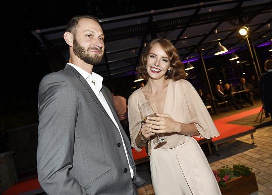 Gábina s manželem Filipem