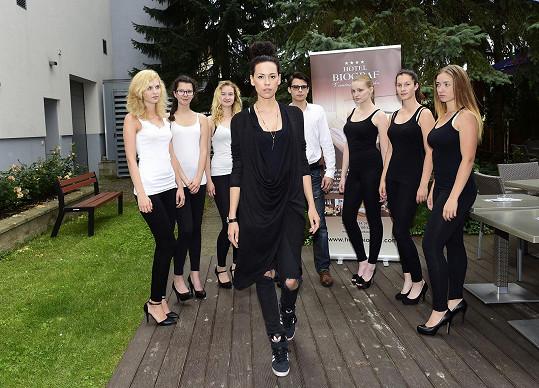 Kateřina Votavová byla mentorkou modelingového kurzu.