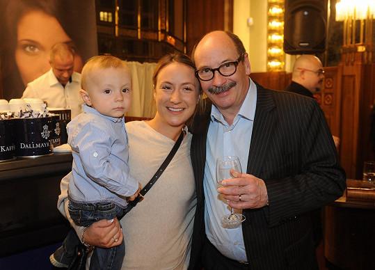 Jadran Šetlík se pochlubil dcerou a vnoučkem Bastienem.