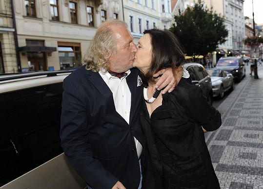 Kristian Kodet s manželkou