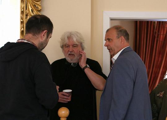 Rychlý s režisérem Dušanem Rapošem