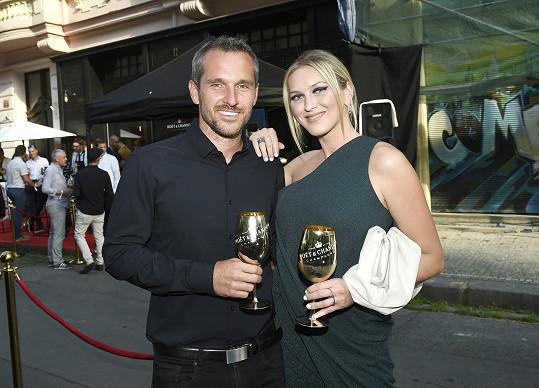 Zorka s manželem Mírou Hejdou