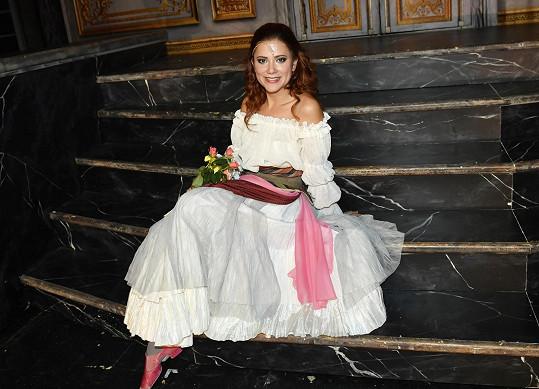 Ivana Korolová si zahrála Faustovu múzu Markétku.