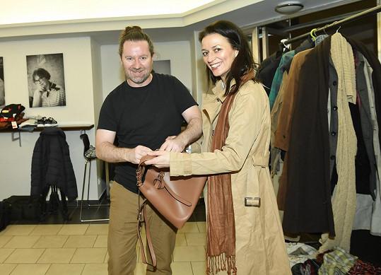S kostýmním výtvarníkem Romanem Šolcem