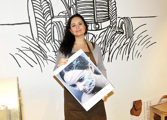 Dorazit má i tvář organizace Debra, v jejíž prospěch půjde výtěžek z akce, Jitka Čvančarová.