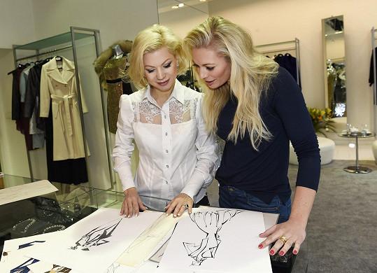 S Borhyovou jsme si povídali během její návštěvy butiku dvorní návrhářky Natali Ruden.