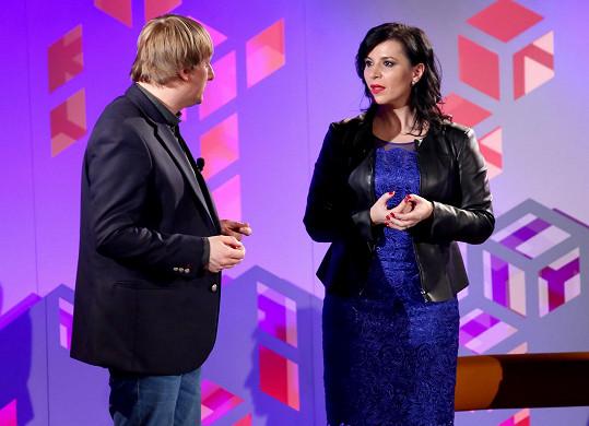 Andrea Kalivodová vyzkoušela ze zpěvu Lukáše Pavláska.
