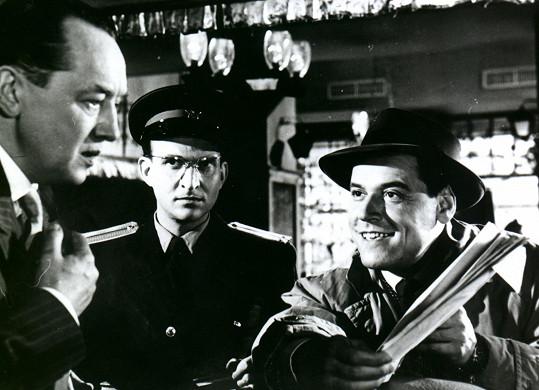 František Vnouček, Miloš Vavruška a Josef Bek v detektivce 105% alibi
