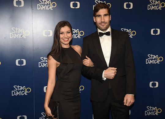 David Svoboda a Veronika Lálová se přišli podívat na finále StarDance.