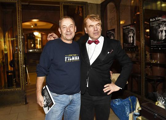 Dorazil i kolega, režisér Václav Marhoul.