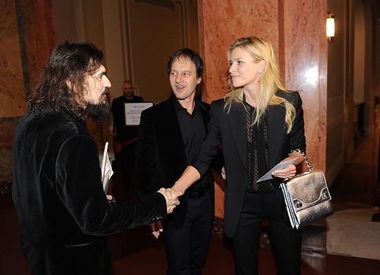 Na koncert dorazila i Daniela Peštová a Paľo Habera.