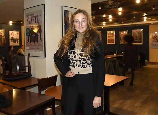 Rozálie Havelková na první zkoušce muzikálu Kabaret