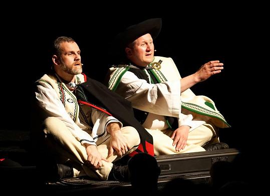 Ján Jackuliak si ve slovenském muzikálu KUBO zahrál jednu z hlavních postav.